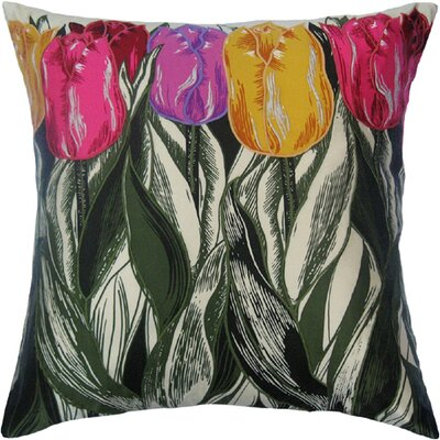Filos Design Flower Power Tulip Silk Pillow