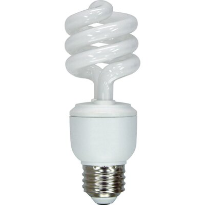13W Energy Smart Spiral CFL Light Bulb (Pack of 6)