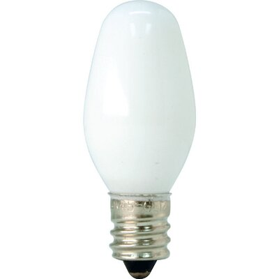 GE 4W Candelabra Night Light Bulb