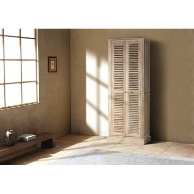 James Martin Furniture Antique House Bathroom Linen Cabinet