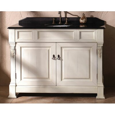 James martin furniture marlisa 48 single bathroom vanity - Wayfair furniture bathroom vanities ...