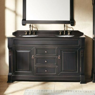 James martin furniture brookfield 60 double bathroom - Wayfair furniture bathroom vanities ...