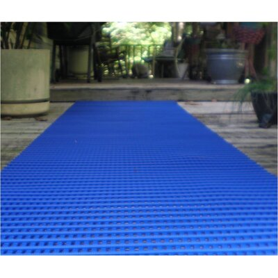 Mats Inc. Ergorunner 3' x 10' Safety and Comfort Matting in Blue