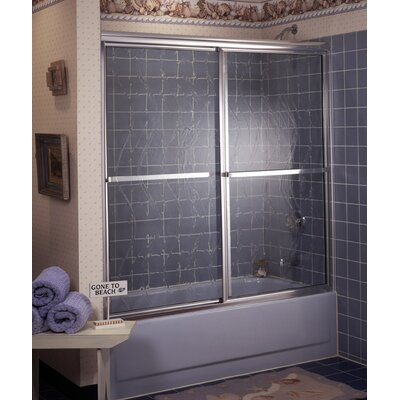 Coastal Industries Framed Paragon Bypass Shower Enclosure