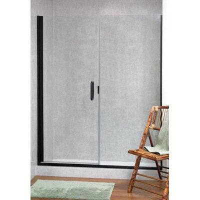 Coastal Industries Paragon Illusion Series C-Pull Frameless Shower Door and Inline Panel