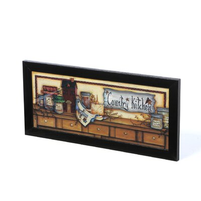 Timeless Frames Country Kitchen Shelf Art Print Wall Art