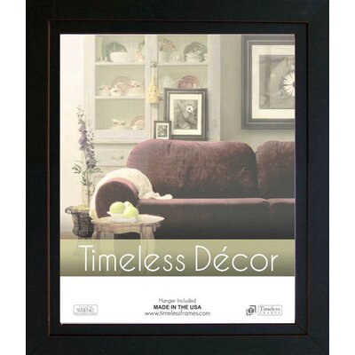 Timeless Frames Studio Black Solid Wood Picture Frame