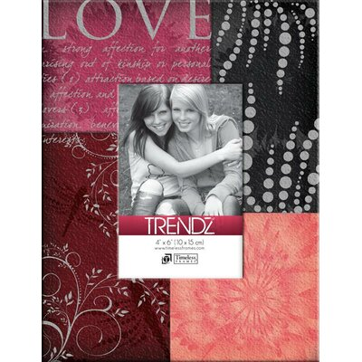 Timeless Frames Trendz Love Decoupage Tabletop Photo Frame