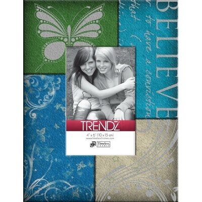 Trendz Believe Decoupage Tabletop Photo Frame