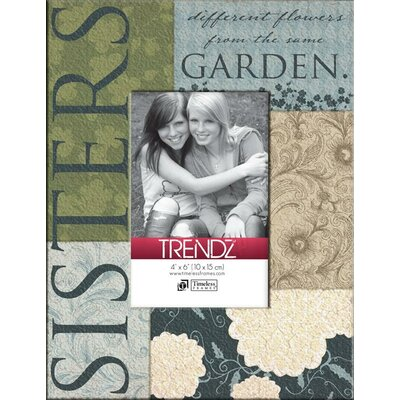 Timeless Frames Trendz Sisters Decoupage Tabletop Photo Frame