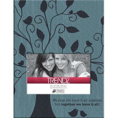 Timeless Frames Trendz Together Decoupage Tabletop Photo Frame