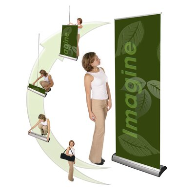 Exhibitor's Hand Book Imagine Premium Banner Stand