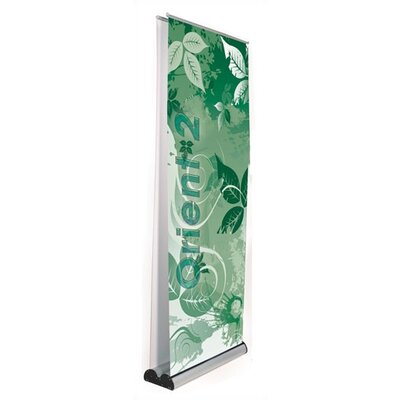 Orbus Inc. Multiple Size Double Sided Orient 2 Banner Stand