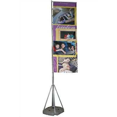 Orbus Inc. Wind Dancer Telescopic Outdoor Flagpole