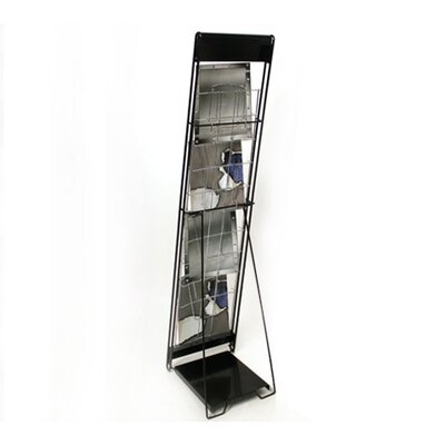 Orbus Inc. 10-Up Flat Literature Rack