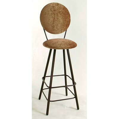 "Grace Collection 30"" Circular Swivel Stool"