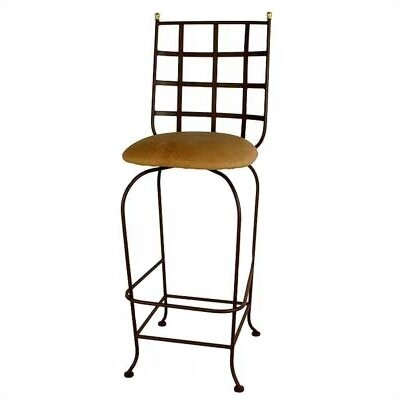 Grace Collection Westminster Swivel Barstool w/ Arms