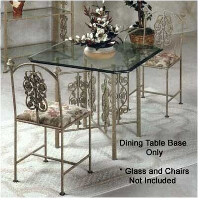 Rose Garden Medium Dining Table Base