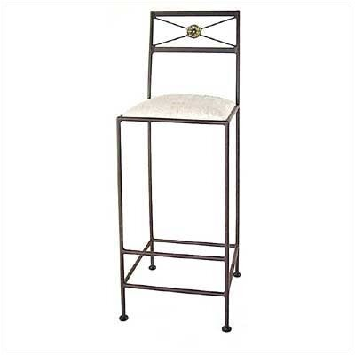 Neoclassic Bar Stool with Cushion
