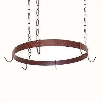Round Ceiling Mount Pot Rack