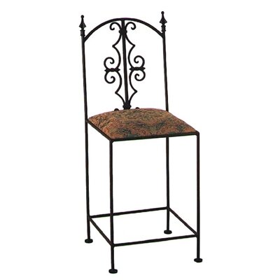 Gothic Bar Stool with Cushion