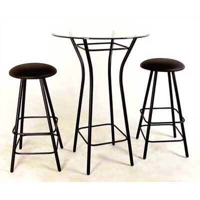 "Grace Collection 36"" Round Moderno Bistro Table"