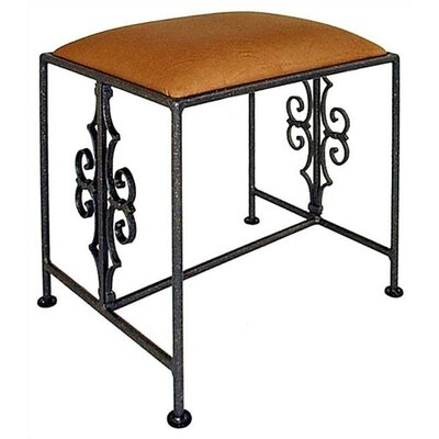 Grace Collection Gothic Vanity Bench