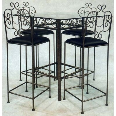 Grace Collection French Bar Stool with Arms