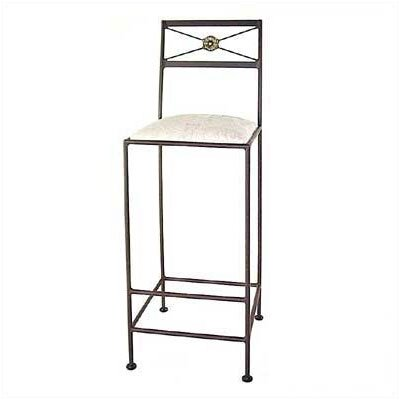 Grace Collection Neoclassic Bar Stool w/ Arms