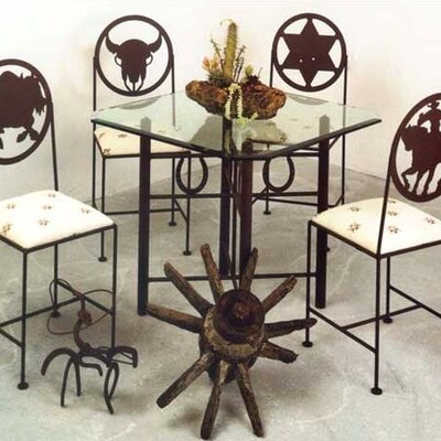 Horseshoe Cross Dining Table