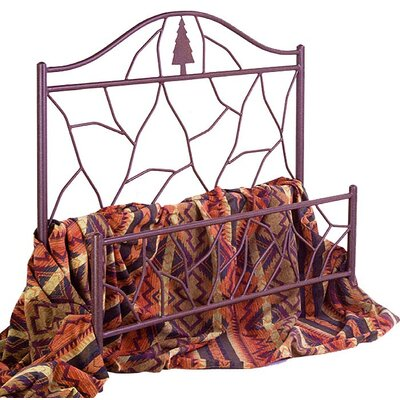 Grace Collection Twig Wrought Iron Bed