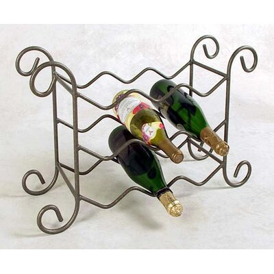 Grace Collection 9 Bottle Tabletop Wine Rack
