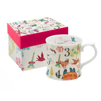 <strong>Rosanna</strong> 12 Days Of Christmas 12 oz Individual Mug