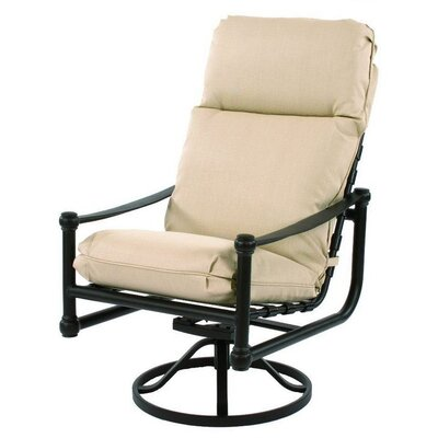 Suncoast Heritage Swivel Tilt Dining Arm Chair with Cushion