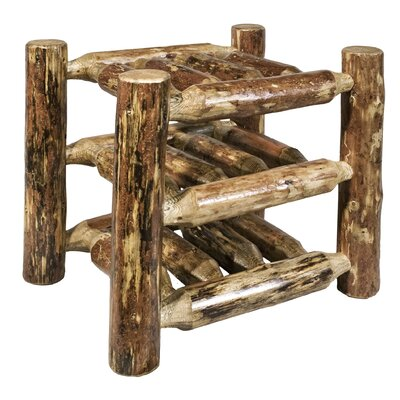 Montana Woodworks® Glacier Country 9 Bottle Tabletop Wine Rack