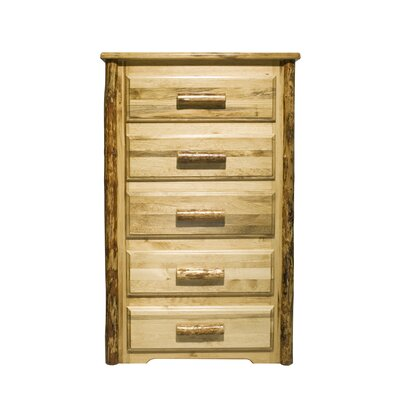 Montana Woodworks® Glacier Country 5 Drawer Chest