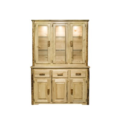 Montana Woodworks® Glacier Country China Cabinet