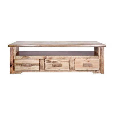 Montana Woodworks® Homestead Sitting Chest / Entertainment Center