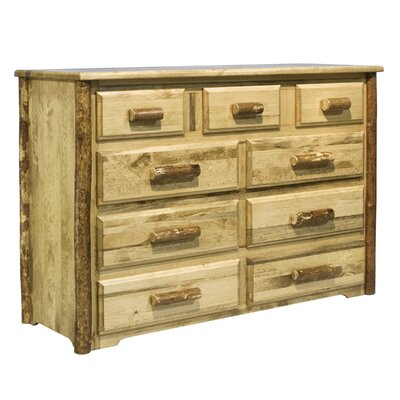 Glacier Country 9 Drawer Dresser