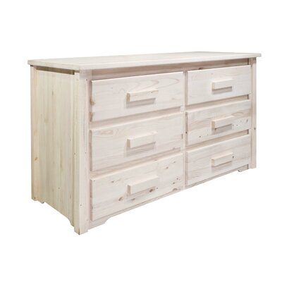 Montana Woodworks® Homestead 6 Drawer Dresser
