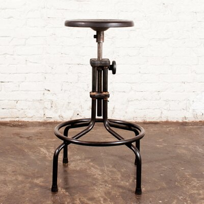 "District Eight Design V19C 24.5"" Adjustable Bar Stool"