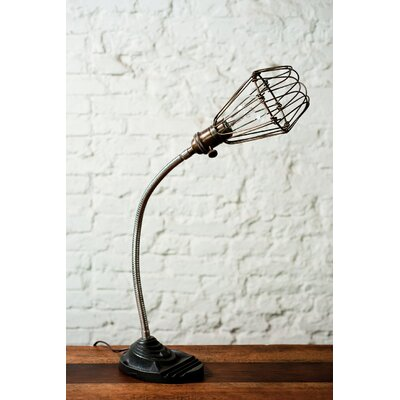 "District Eight Design Flexible 12"" H Table Lamp"