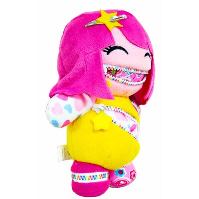 Playdin Zoey Zip-Itz Plush Toy