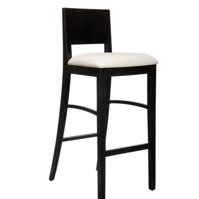 Italia Bar Stool with Cushion