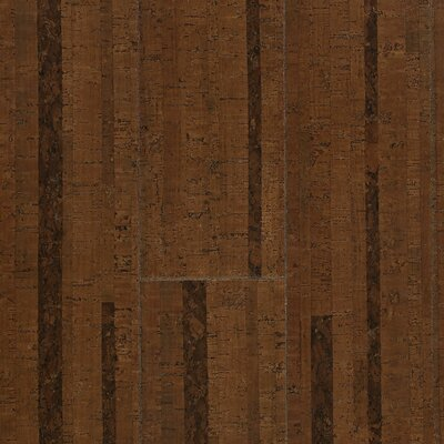 "Wicanders Corkcomfort 5-1/2"" Engineered Cork Flooring  in Chestnut"