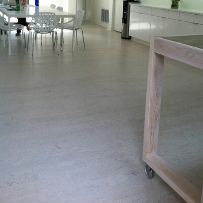 "Wicanders Corkcomfort 5-1/2"" Engineered Cork Flooring in Flock Moonlight"