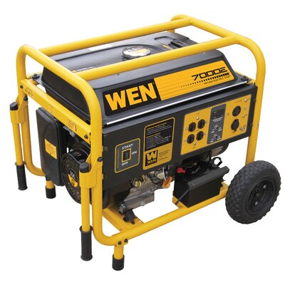 7,000 Watt Portable Generator with Wheel Kit - 56682