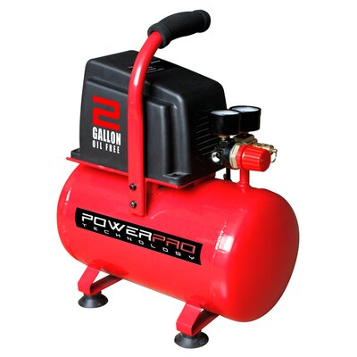 2 Gallon Oil Free Air Compressor