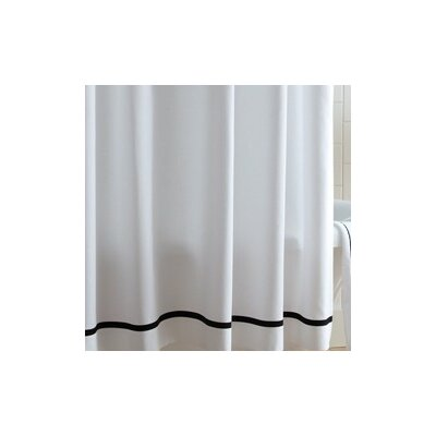 Peacock Alley Tailored Pique Cotton Shower Curtain