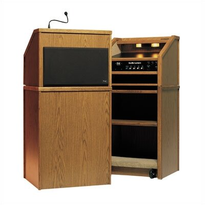Anchor Audio Seville One Piece Lectern with built-in sound system